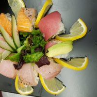 Image of Exotic Sushi Appetizer Plate by Yooshi Sushi