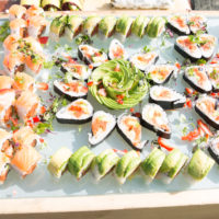 Image of Large Sushi Fish Platter for VIP Event by Yooshi Sushi