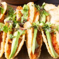 Image of Crunchy Sushi Tacos, Sushi Caterer California