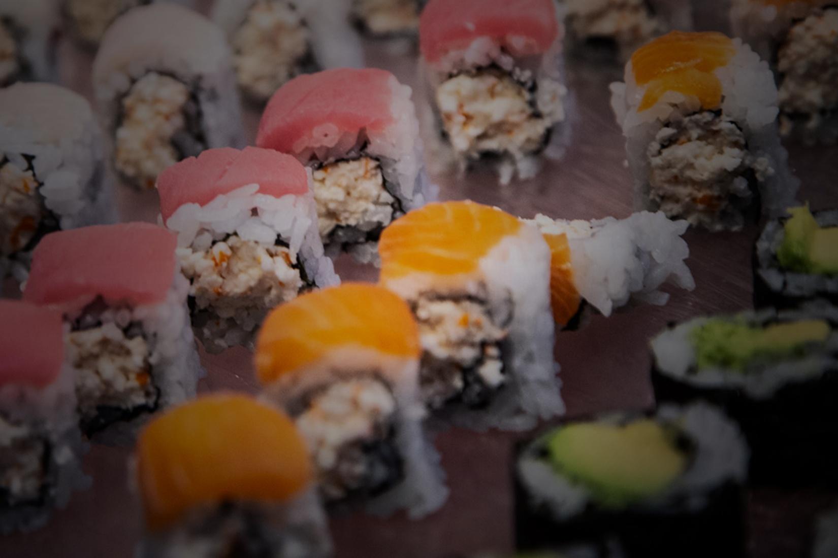 Close Up Image Of Sushi by Yooshi Sushi Catering